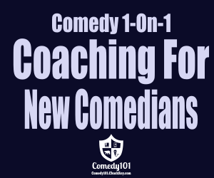 Comedy 1-On-1 Coaching For New Comedians