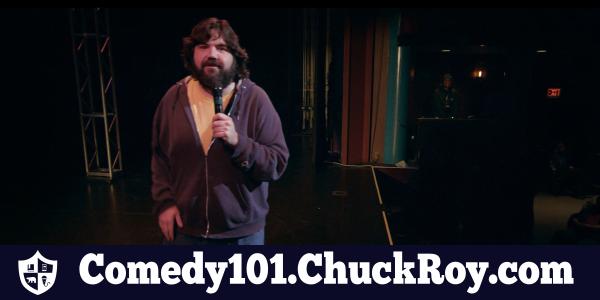 Comedy101 Chuck Roy