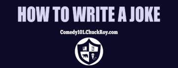 How To Write A Joke