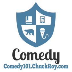 Comedy101.ChuckRoy.com Logo