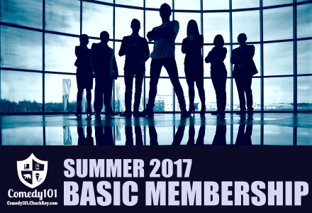 Comedy101 Summer 2017 Basic Membership