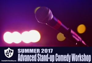 Comedy101 Advanced Stand-up Comedy Workshop