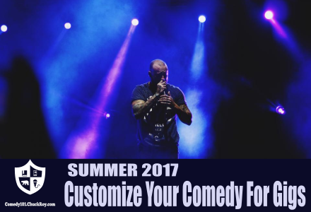 Comedy101 Customize Your Comedy For Gigs