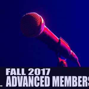 Comedy101 Fall 2017 Advanced Membership