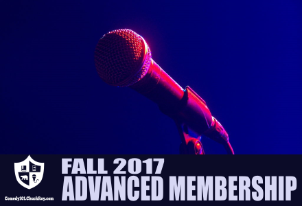 Comedy101 Fall 2017 Advanced Membership