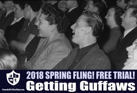 Getting Guffaws