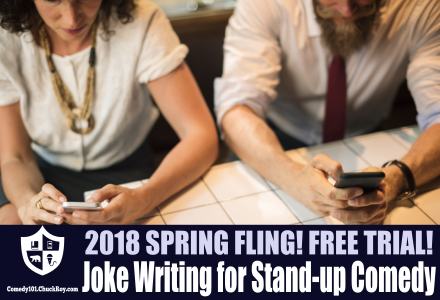 Joke Writing for Stand-up Comedy