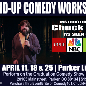 Stand-up Comedy Workshop, Parker Library, Colorado