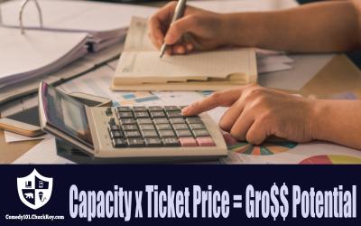 Capacity x Ticket Price = Gross Potential