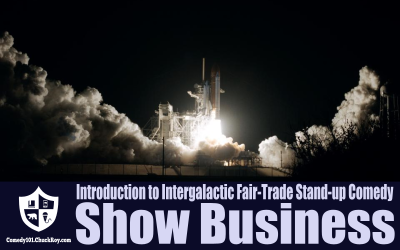 Introduction to Intergalactic Fair-Trade Stand-up Comedy Show Business