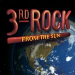 3rd Rock from the Sun logo with earth