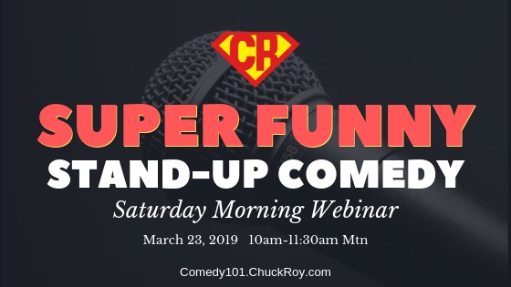 Super Funny Stand-up Comedy Webinar
