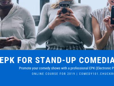 EPK for Stand-up Comedians (Webinar Series)