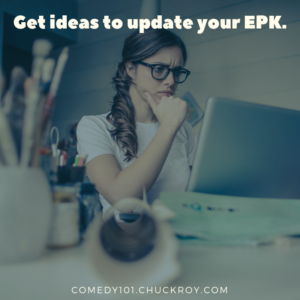 Get ideas to update your EPK