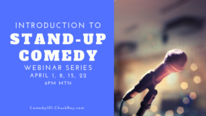 Introduction to Stand-up Comedy (Webinar Series)