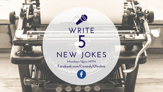 Write 5 New Jokes