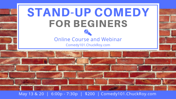 Stand-up Comedy for Beginners Webinar