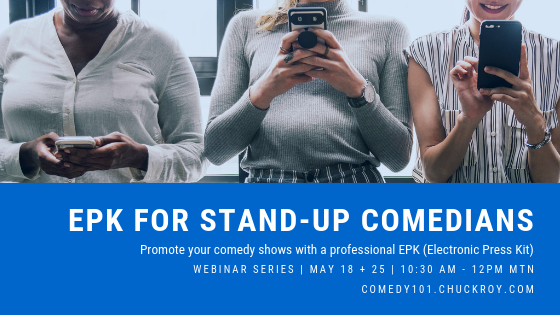 EPK for Stand-up comedians