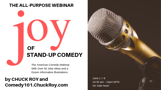 Joy of Stand-up Comedy Webinar Series