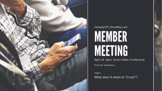 Comedy101 Member Meeting