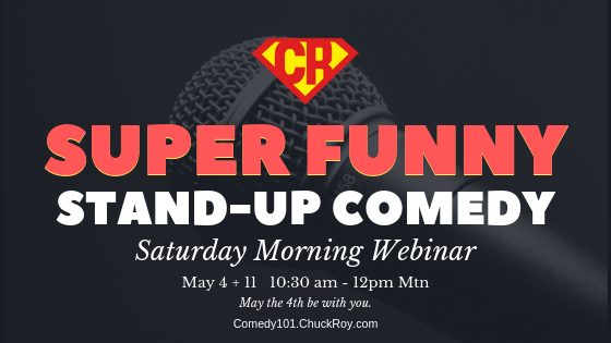Super Funny Stand-up Comedy Webinars