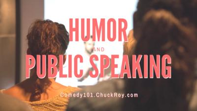 Humor and Public Speaking   Webinars (September 2019)