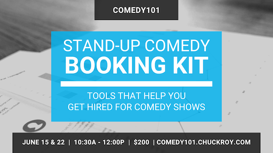 Stand-up Comedy Booking Kit webinars