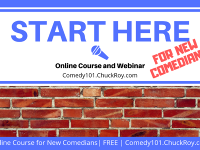 START HERE for New Comedians