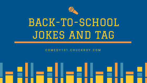 Back-To-School: Jokes and Tags