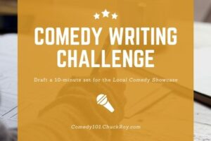 Comedy Writing Challenge FOMtPG