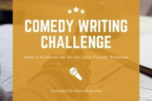 Comedy Writing Challenge FOMtPG